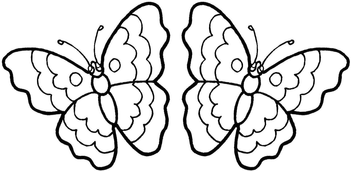 Раскраска бабочка Скачать кирби, мультики, марио.  Распечатать ,Кирби,