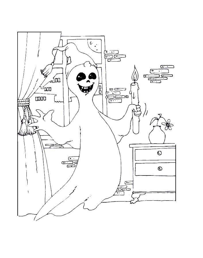 Раскраска Хэллоуин Скачать Карл Фредриксен, Вверх.  Распечатать ,вверх мультик,