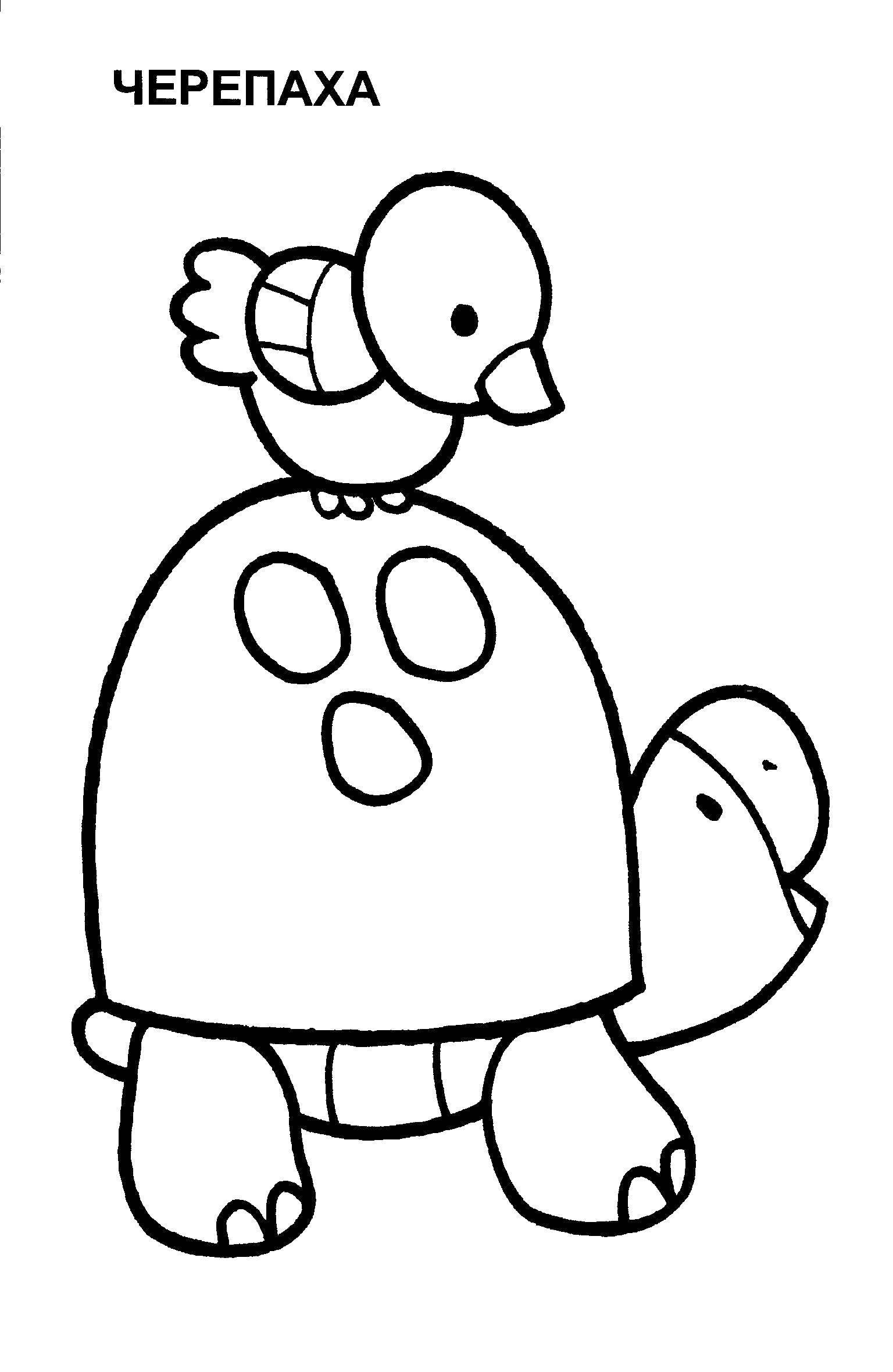 Раскраска Раскраски для малышей Скачать Зоопарк, животные.  Распечатать ,Животные,
