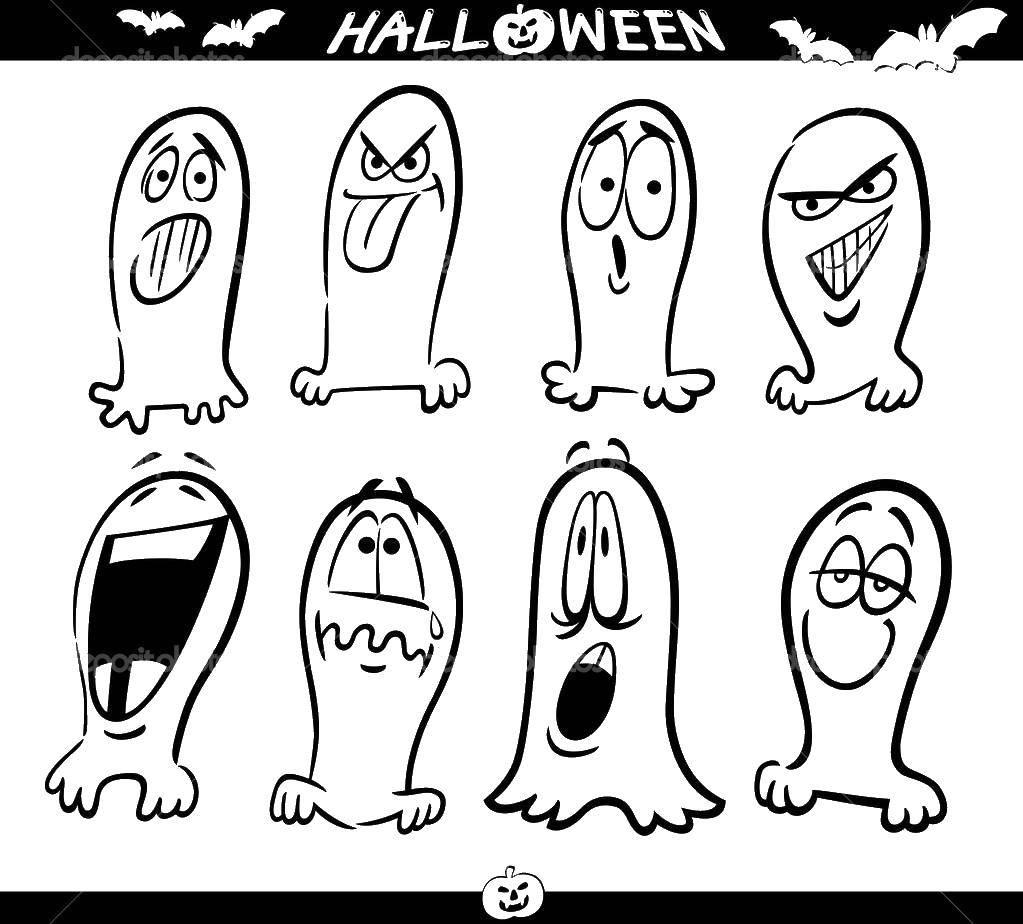 Раскраска Хэллоуин Скачать ,мультфильмы, кот Саймона,.  Распечатать