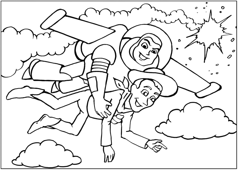 Раскраска Диснеевские мультфильмы Скачать Персонаж из мультфильма, Спанч Боб, Губка Боб, Планктон.  Распечатать ,Персонаж из мультфильма,