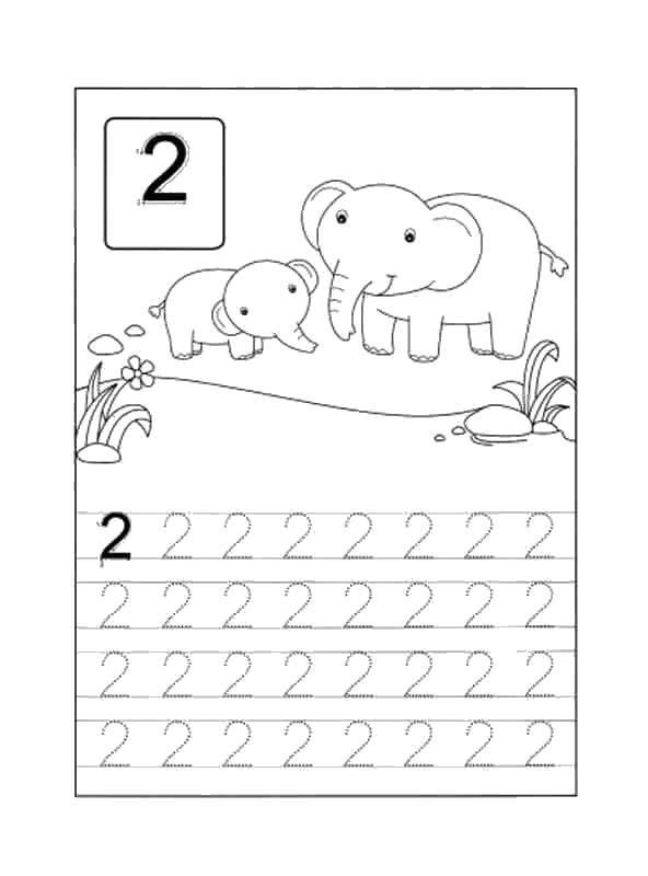 Раскраска Учимся считать Скачать Цифры, счёт.  Распечатать ,Цифры,