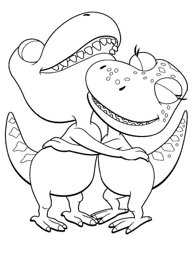 Раскраска динозавр Скачать майнкрафт, молот.  Распечатать ,майнкрафт,