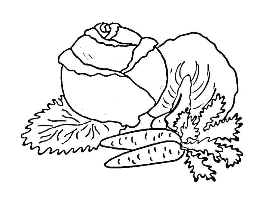 Раскраска овощи Скачать ,гринч,.  Распечатать