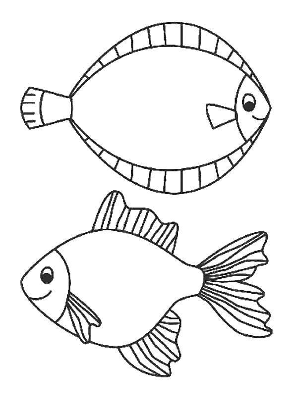 Раскраска рыбы Скачать мама, любовь, я люблю тебя.  Распечатать ,мама,