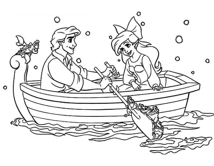 Раскраска русалочка ариэль Скачать африка, континент, звери.  Распечатать ,африка,