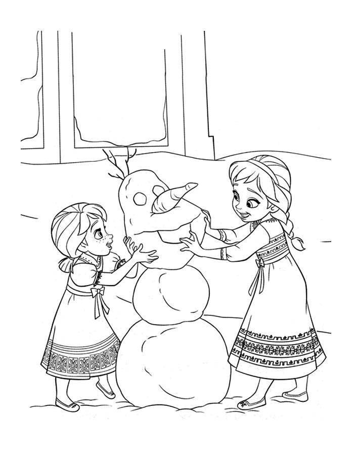 Раскраска Персонажи из мультфильма холодное сердце Скачать Дисней, Эльза, Холодное сердце, принцесса.  Распечатать ,раскраски холодное сердце,