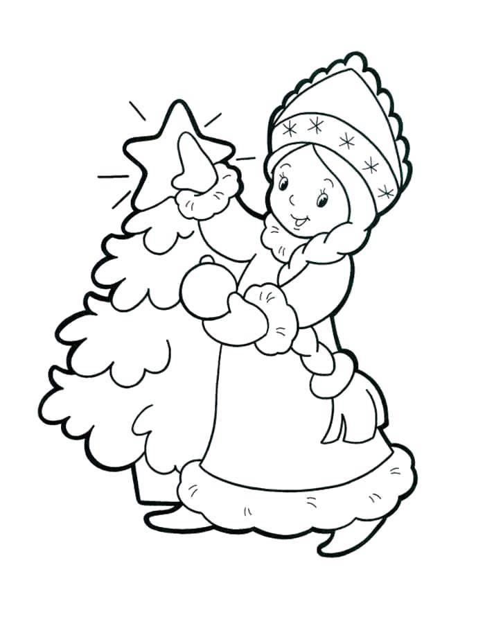 Раскраска снегурочка Скачать Танец.  Распечатать ,Танец,
