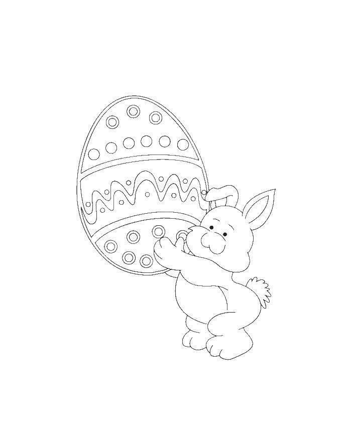 Раскраска пасхальные яйца Скачать ,Бамблби, трансформер,.  Распечатать