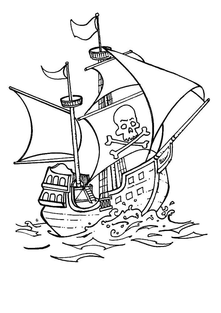 Раскраска Пираты Скачать футбол, спорт, котик.  Распечатать ,Футбол,