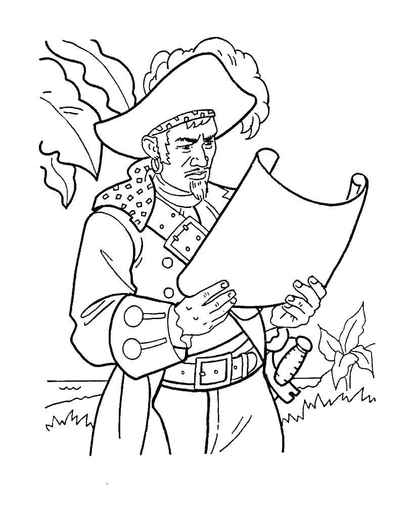 Раскраска Пираты Скачать ,Даша, Башмачок, шарики,.  Распечатать