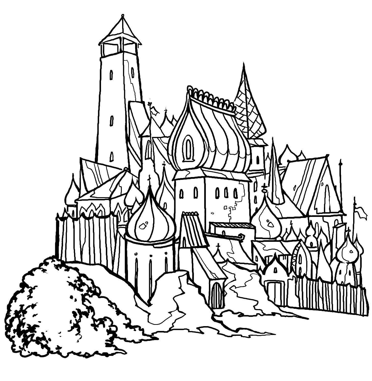 раскраски сказка о царе салтане раскраски на праздники