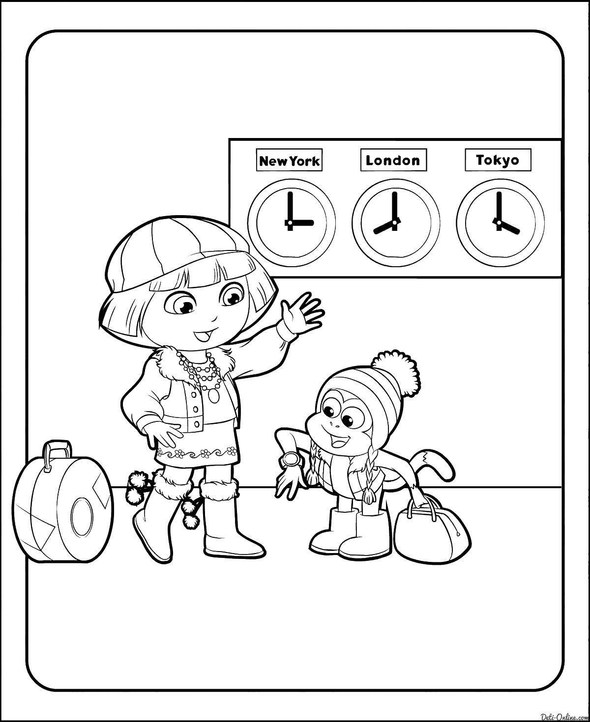 Раскраска Персонаж из мультфильма Скачать рожок, тыква, кукуруза, лук.  Распечатать ,Кукуруза,