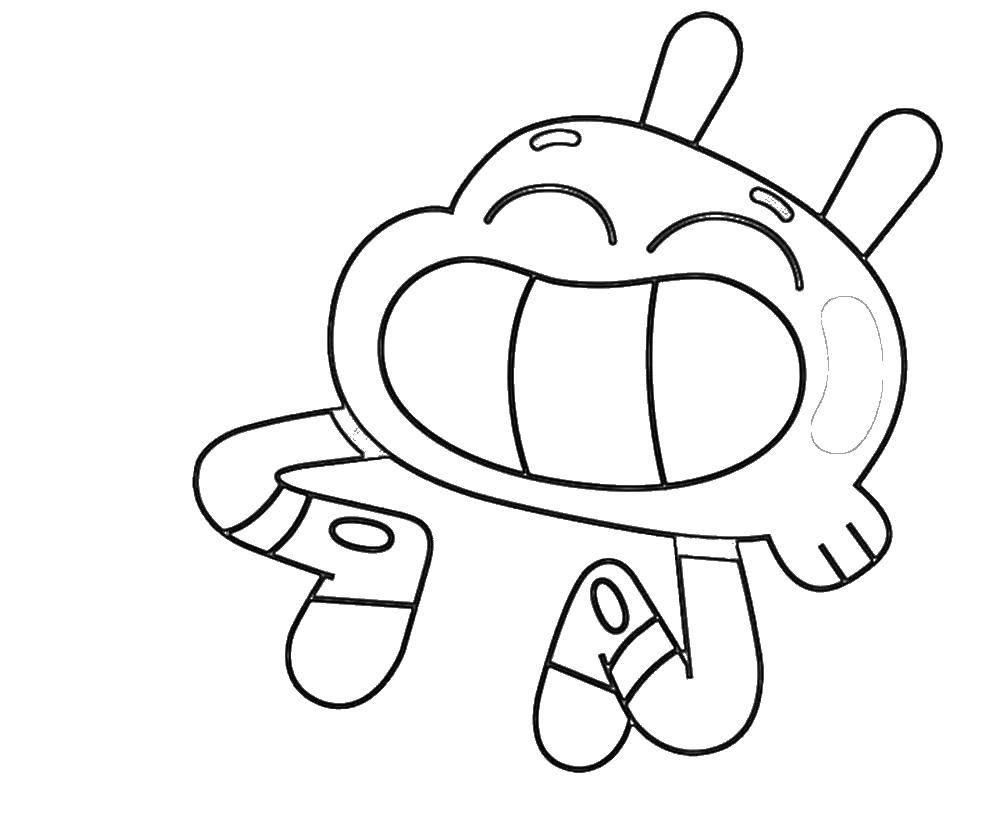 Раскраска Персонаж из мультфильма Скачать ,динозавры, анкилозавр,.  Распечатать