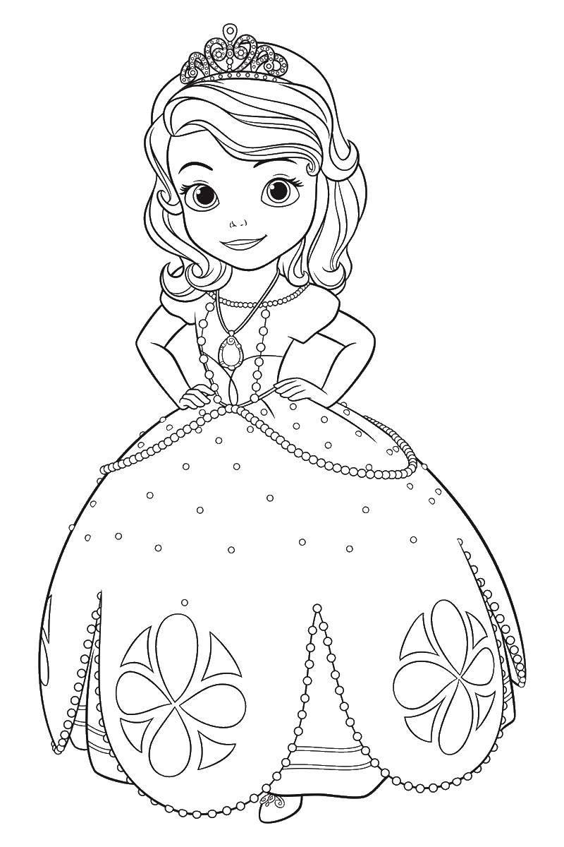 Раскраска Принцессы Скачать ,рождество, гринч,.  Распечатать