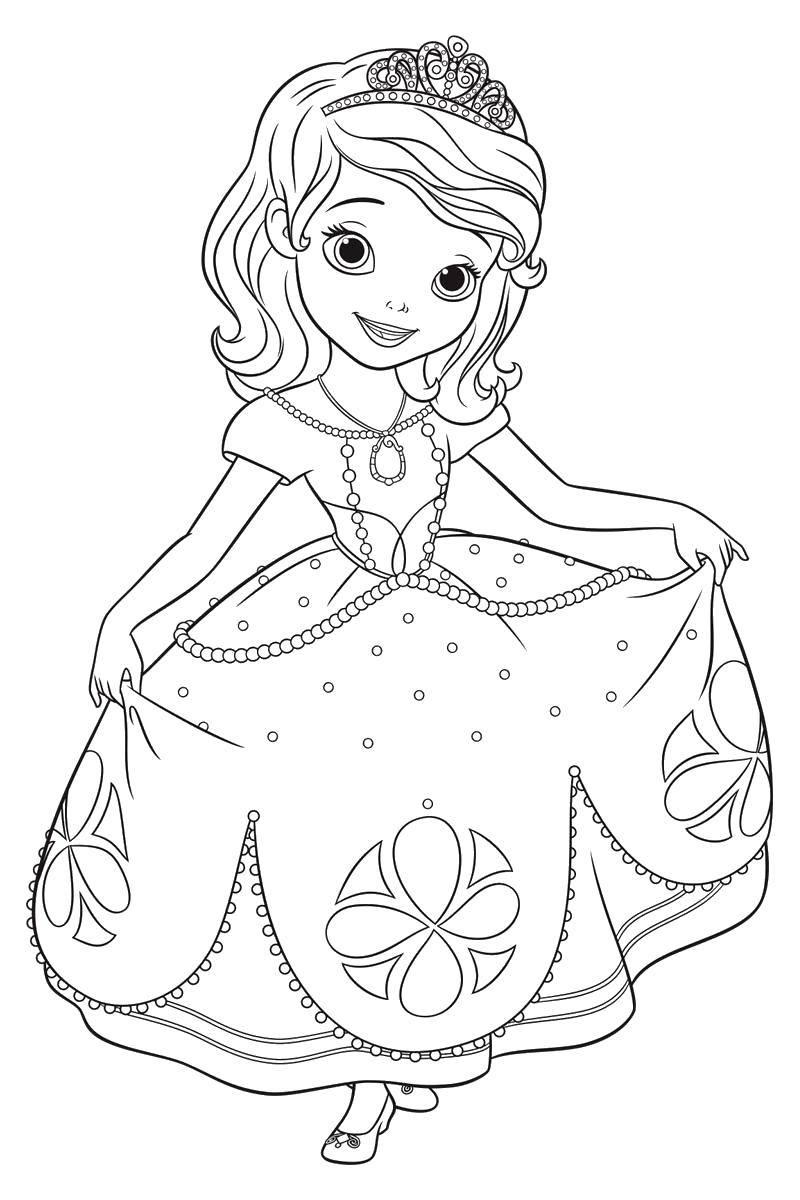 раскраски платья раскраска маленькая принцесса бальные платья