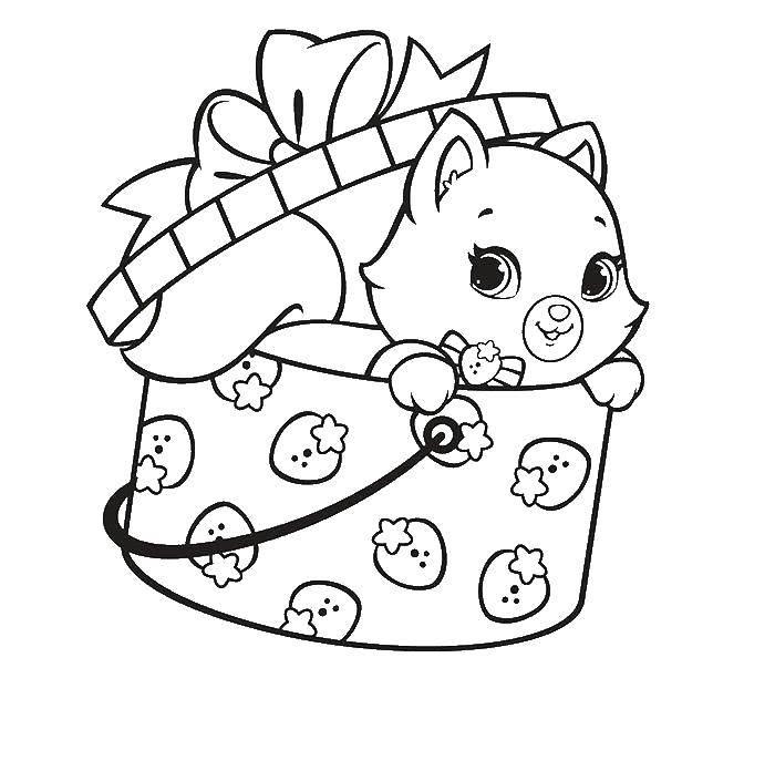 Розмальовки коти, Страница:4.