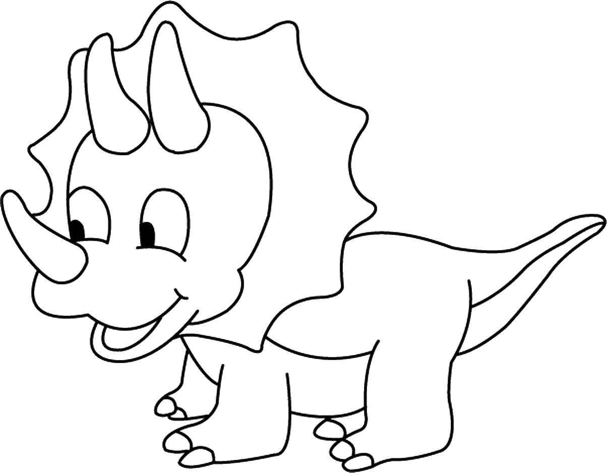 Раскраска Динозавр Скачать ,Динозавр,.  Распечатать