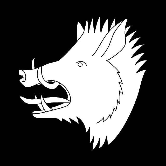 раскраски кабан раскраска кабан дикий животные