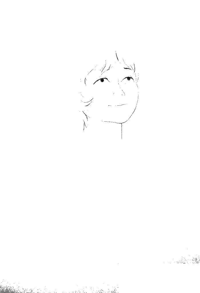 Раскраска Лицо алисы Скачать лицо, Алиса.  Распечатать ,тайна третьей планеты,