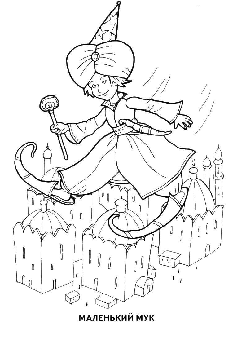 Раскраска сказки пушкина Скачать единорог, крылья, хвост.  Распечатать ,мой маленький пони,