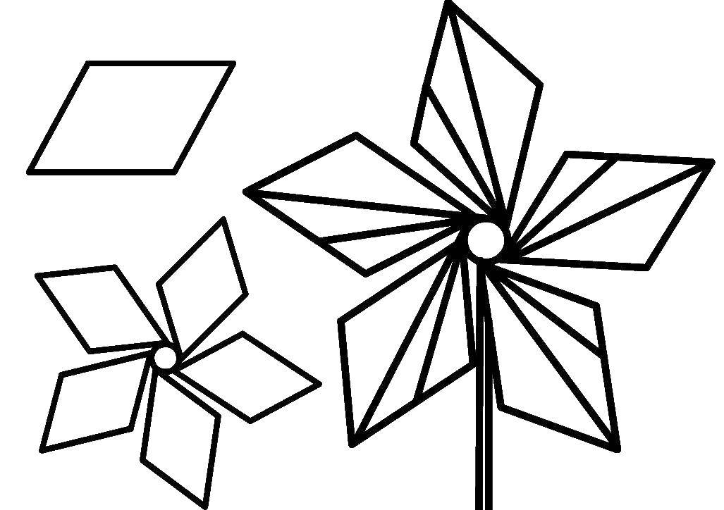 Раскраска фигуры Скачать ,единорог, крылья, корона,.  Распечатать