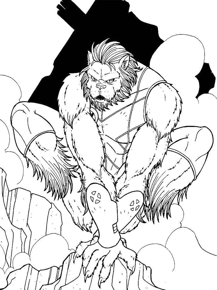 Раскраска супергерои Скачать .  Распечатать