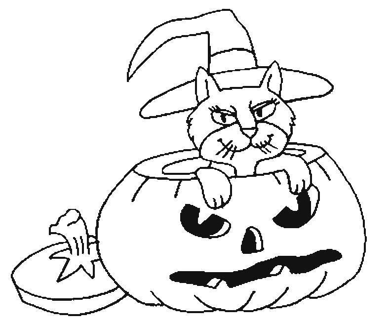 Раскраска тыква на хэллоуин Скачать Персонаж из мультфильма, Винни Пух.  Распечатать ,Персонаж из мультфильма,