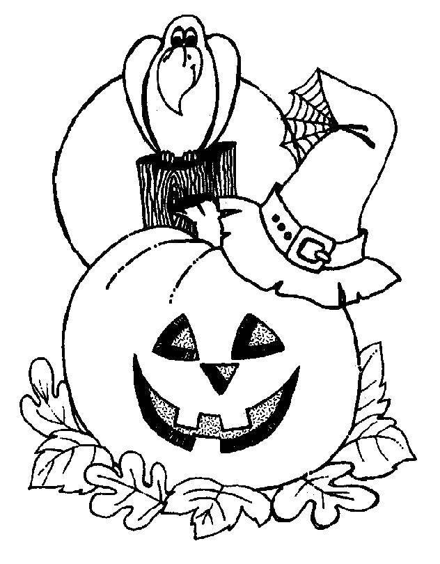 Раскраска тыква на хэллоуин Скачать мультфильмы, телепузики.  Распечатать ,мультфильмы,