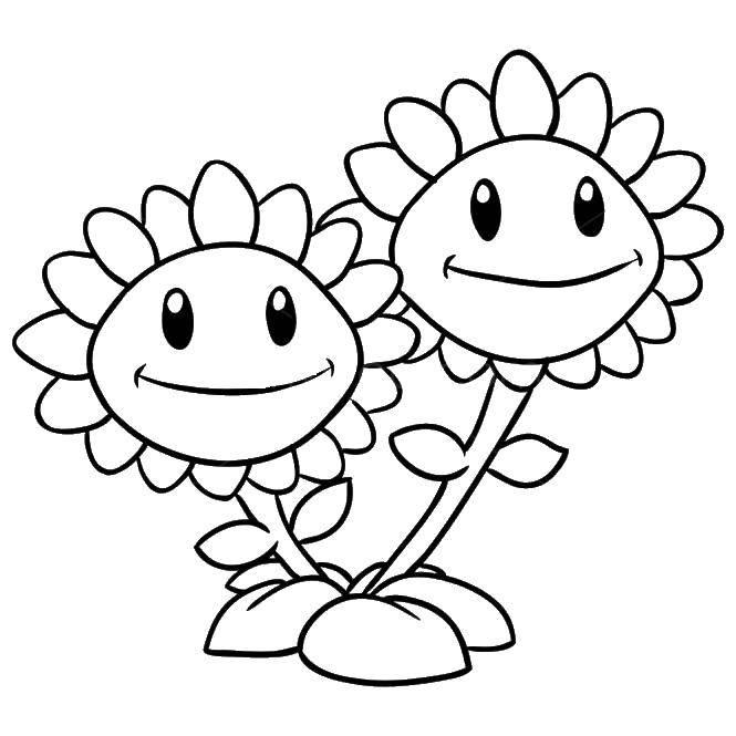 Раскраска Игра зомби против растений  Скачать Зомби против растений, игра.  Распечатать ,зомби против растений,