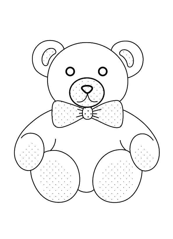 Раскраска Медведь Скачать медведь.  Распечатать ,раскраски для маленьких,