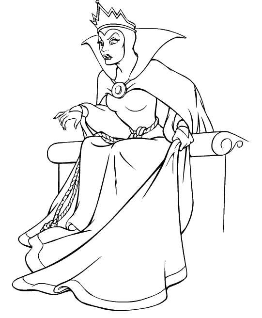 Раскраска Персонаж из мультфильма холодное сердце  Скачать Дисней, Эльза, Холодное сердце, принцесса.  Распечатать ,Диснеевские раскраски,