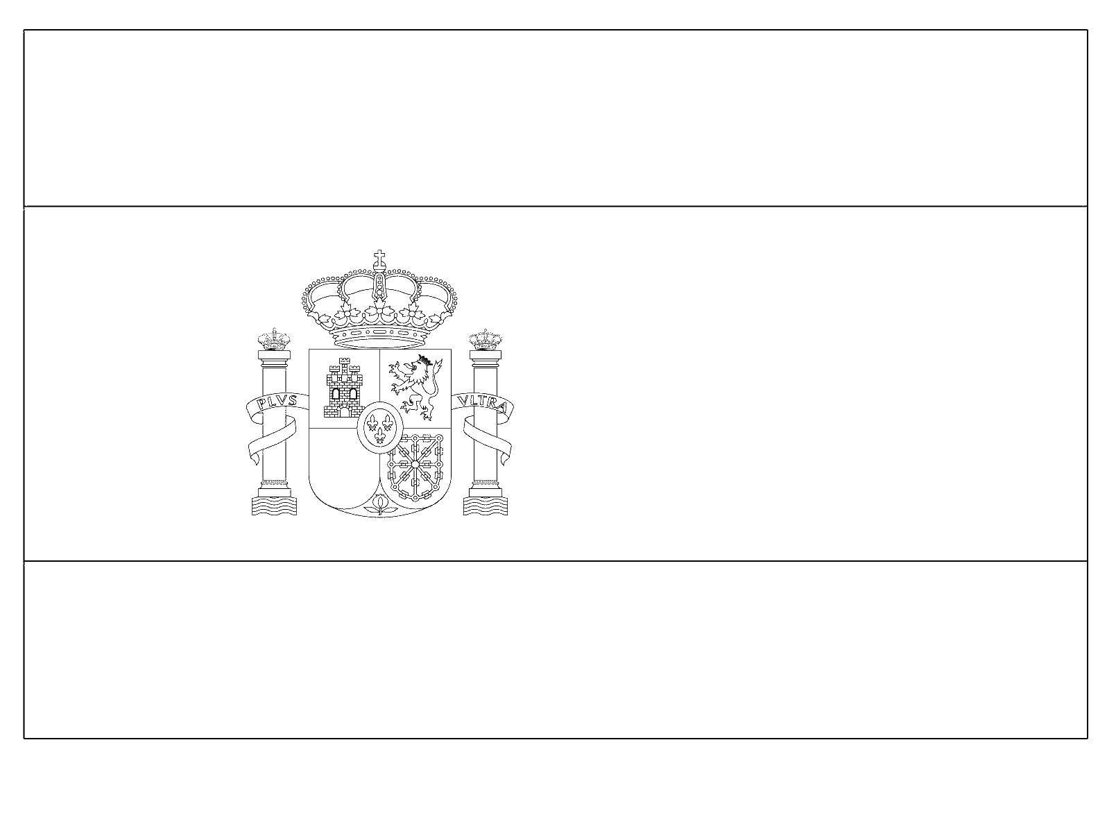 Раскраска Флаг испании Скачать ,Испанский язык,.  Распечатать