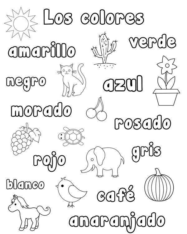Раскраска Испанский язык Скачать Испанский язык, Испания.  Распечатать ,испанский язык,