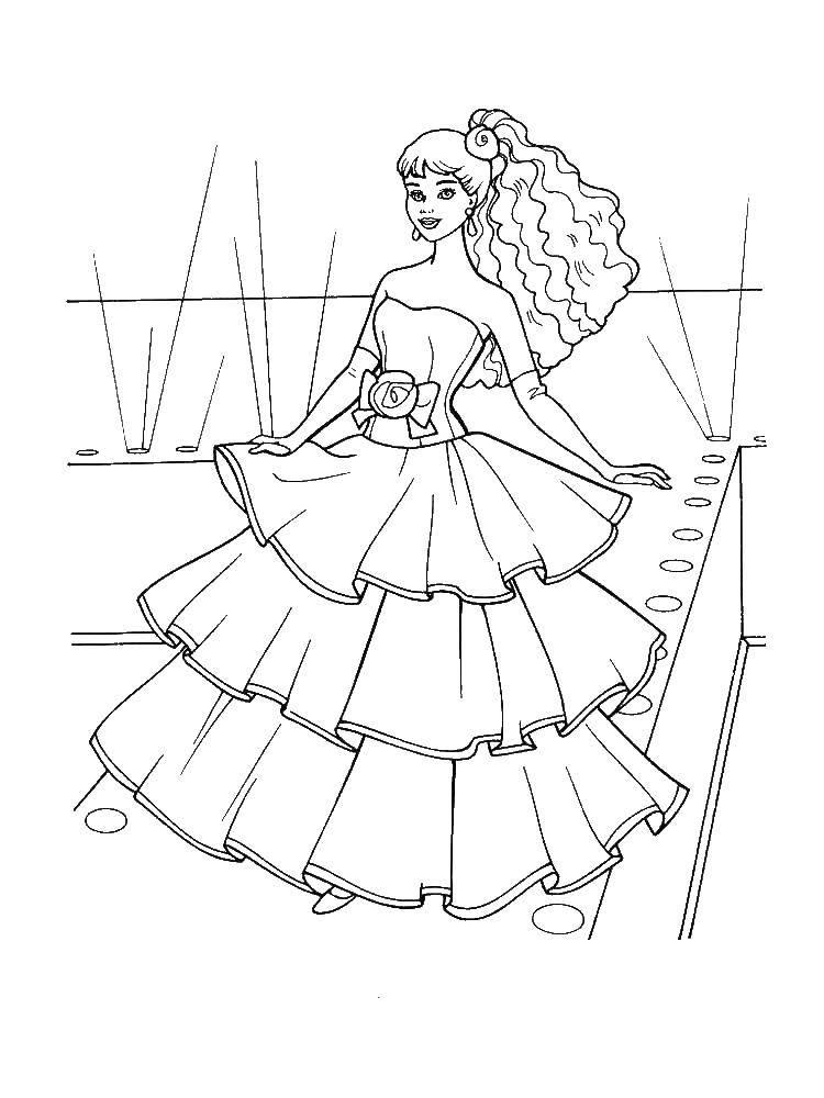 Раскраска Барби Скачать властелин колец.  Распечатать ,властелин колец,