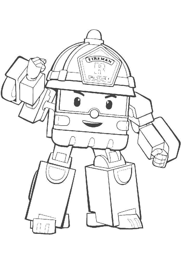 Раскраска Персонаж из мультфильма Скачать .  Распечатать