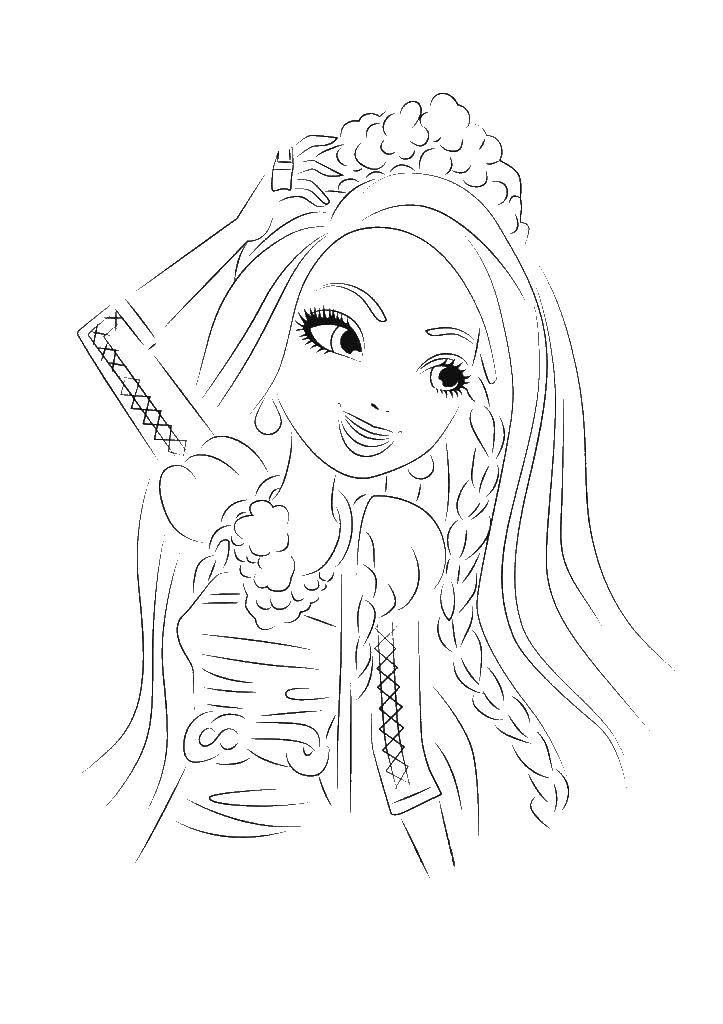 Раскраска принцесса Скачать майнкрафт, игры, меч.  Распечатать ,майнкрафт,