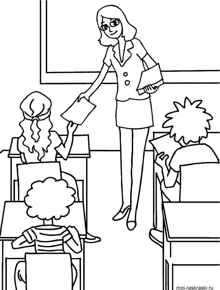 Раскраска школа Скачать Персонаж из мультфильма, Бен Тен.  Распечатать ,Персонаж из мультфильма,