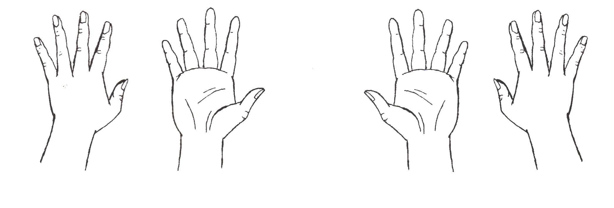 Раскраска рука Скачать ,Зомби против растений, игра,.  Распечатать