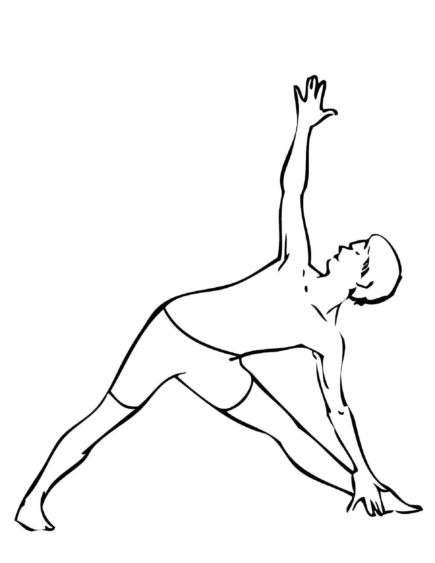 раскраски упражнения раскраска упражнения физические из