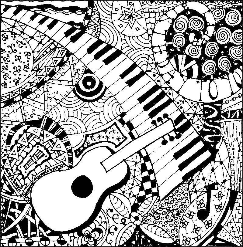 Раскраска музыка Скачать балерина, пуанты, пачка.  Распечатать ,Танец,
