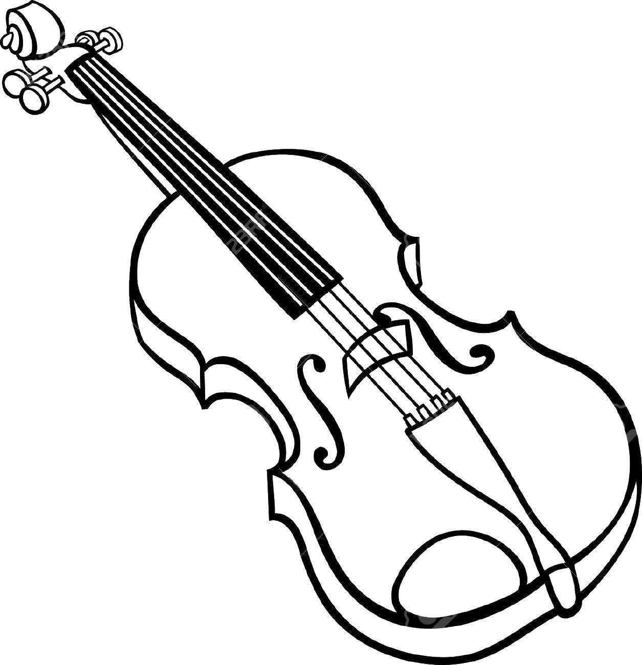 Online coloring pages Coloring page Cello Music, Coloring Download ...