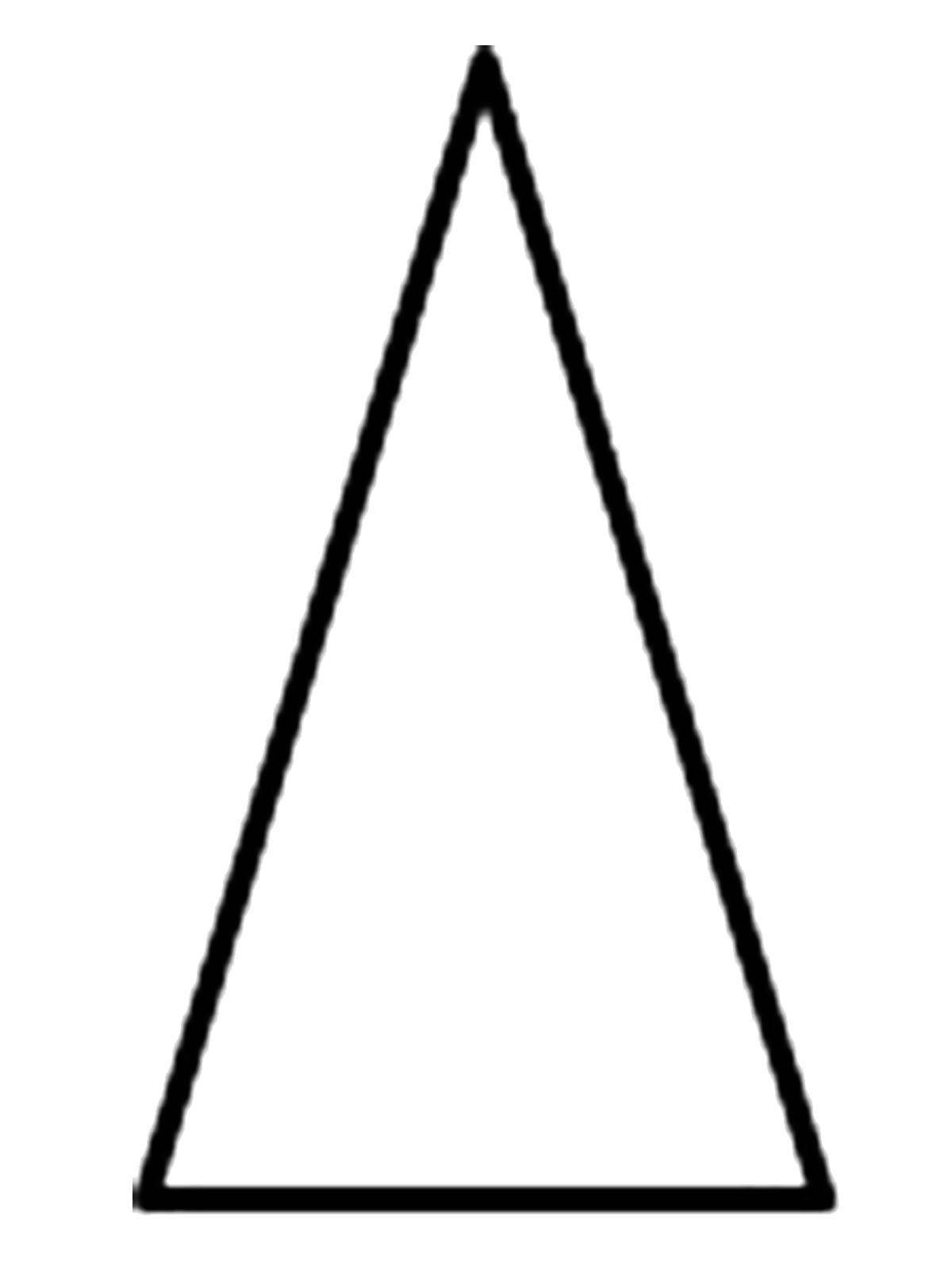 Раскраска Треугольник Скачать ,Треугольник,.  Распечатать
