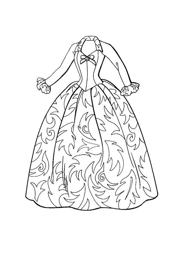 Online coloring pages Coloring pageQuinceanera dresses for girls ...
