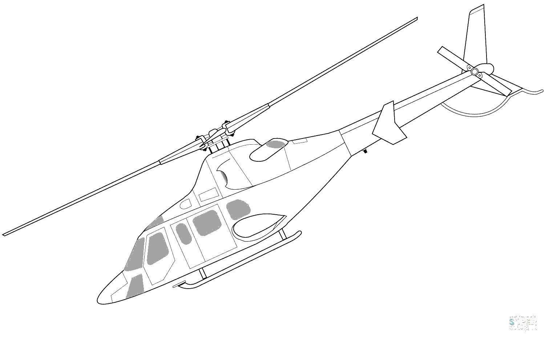 Раскраска Вертолеты Скачать машины, внедорожники.  Распечатать ,машины,