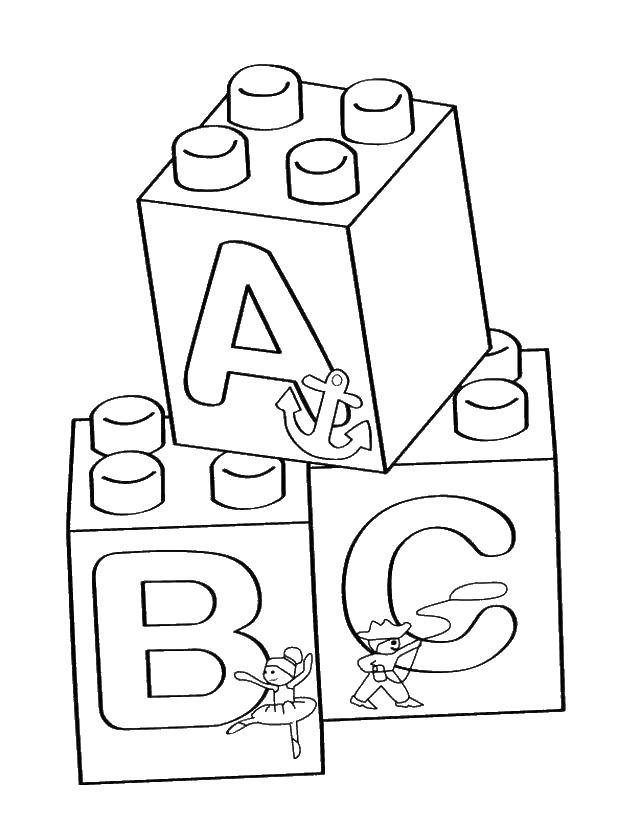 Online coloring pages Coloring pageLEGO blocks LEGO, Coloring Books ...