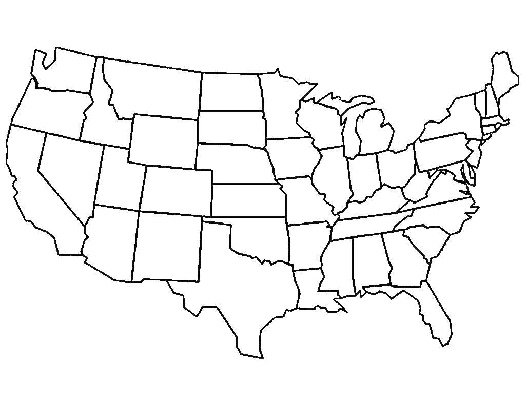 Coloring Usa Map.Online Coloring Pages Coloring Page Usa Map Usa Coloring Books For