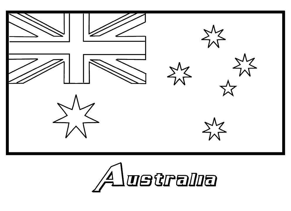 Раскраска Флаги Скачать .  Распечатать