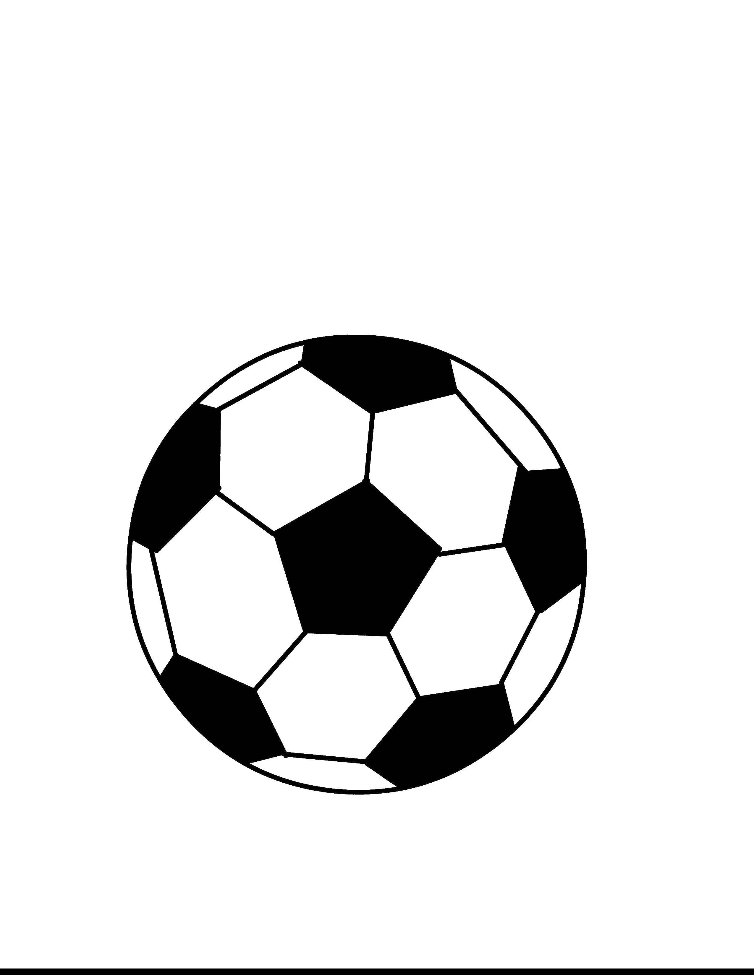 Раскраска Футбольный мяч Скачать спорт, футбол, футбольный мяч.  Распечатать ,Спорт,