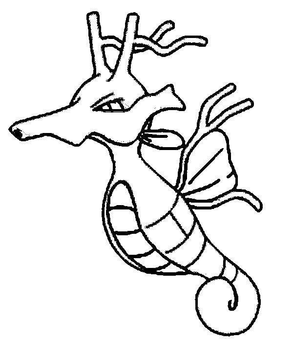 Раскраска Морской конек Скачать морской конек.  Распечатать ,обитатели моря,